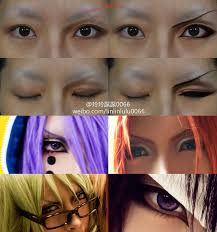 boy character s eyes makeup tutorial by