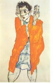 egon schiele :: cards and postcards | Egon schiele, Self portrait, Painting