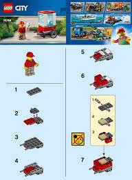 LEGO 30364 Popcorn Cart Instructions, City