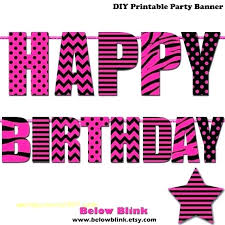 Baby Banners Template Free Printable Happy Birthday Banner Templates Letters Banners Diy
