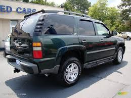 2004 Dark Green Metallic Chevrolet Tahoe Z71 4x4 #51943293 Photo ...