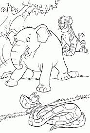 Small Picture Printable Coloring Pages Jungle Animals