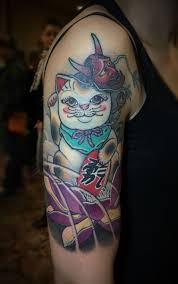 Maneki Neko Tattoos The Meanings Behind A Gesture Tattoo Life