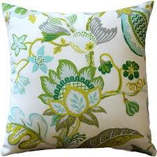 St Thomas Lime Outdoor Throw Pillow 20x20 from Pillow Decor