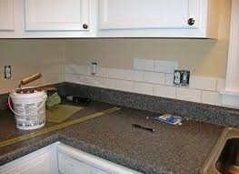 subway tile backsplash ideas for white kitchen with granite countertops w27 countertops