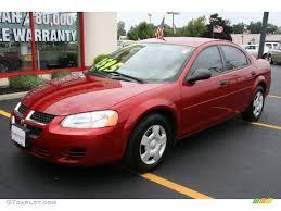 2004 Inferno Red Pearlcoat Dodge Stratus SE Sedan #33674079 ...