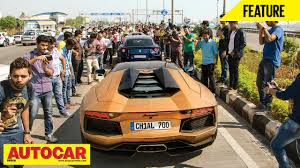 Parx Super Car Show Feature Autocar India Youtube
