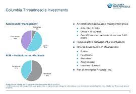 columbia strategic income fund fact sheet presentacion threadneedle funds experience 2016