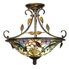 ceiling fans tiffany glass light fixtures stained glass ceiling fan lamp shades tiffany hanging light