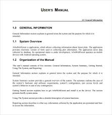 user manual template sample user manual template sample instruction manual template