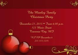 family christmas dinner invitation wording and template nice christmas invitations elegant red themed christmas party invitation card golden font color and red