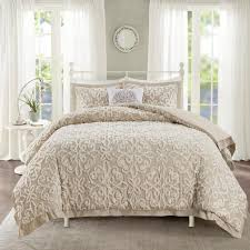 madison park sarah 4 piece taupe full