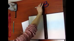 Видеоинструкция по сшиванию <b>папки</b> диплома - YouTube