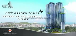 sc6137 city garden tower for in pattaya city