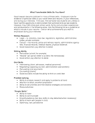 Best Photos Of Cover Letter For Transferable Skills Transferable