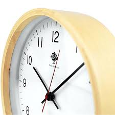 silent wall clocks silent wall clock wood 8 inches non ticking digital quiet sweep decorative vintage