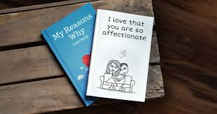 wedding gifts by lovebook the personalized gift book that says why you love someone lovebook
