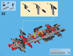 lego pick up tow truck instructions 9395, technic towing truck for sale at Tow Truck Diagram