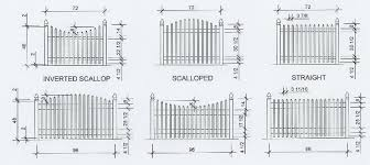 picket fence drawing. Picket Fence Drawing
