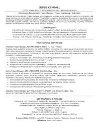 Ms Project Scheduler Sample Resume Fascinating Assistant Project Manager Resume Giabotsan