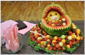 baby shower decoration ideas pictures fruit baby cribs