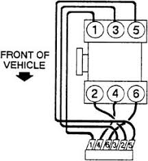 solved i need a firing order diagram for a 2004 isuzu fixya what is the firing order for 2004 isuzu rodeo 3 5 coils