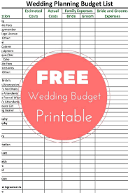 Wedding Planning Budget Template Function Checklist Template Free Wedding Planning Budget