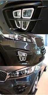 Fog Lights For 2019 Kia Sorento Details About Front Fog Lamp Light Cube Cover Molding Garnish For Kia 2015 2019 Sorento Um