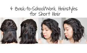 easy and quick short hairstyles diy hair by makeup tutorials at
