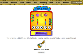 Neopets Alien Vending Machine Magnificent Right After Reading The Post About How To Get A Maraquan Paint Brush