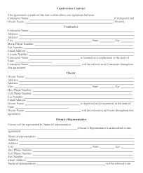 Temporary Employment Contract Template Employment Agreement Template