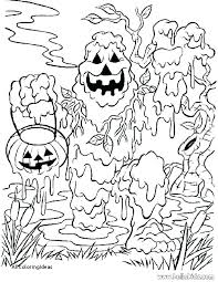 Coloring Pages Scary Coloring Pages Free Yard Decorations Unique