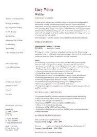 Welding Resume Examples Fascinating Welder CV Sample Resume Downloadable Welder Resume Sample 28