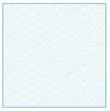 Isometric Graph Paper Layout With 26 57 Degree Background Vector