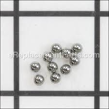 hitachi wh18dgl. steel ball d3.5 10 pcs. hitachi wh18dgl