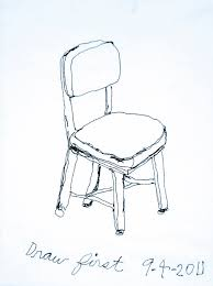 chair drawing. Simple Drawing ChairDrawingSample In Chair Drawing