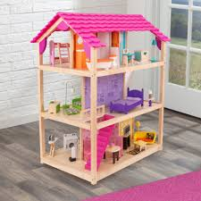 So Chic Wooden Dollhouse ...
