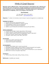 Resume Comely Excellent Resume Example Also Best Cv Examples
