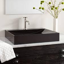 rectangle modern vessel sink  signature hardware