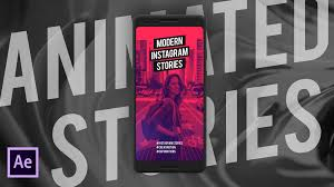After Effects Story Book Template Create Modern Stylish Instagram Stories In After Effects