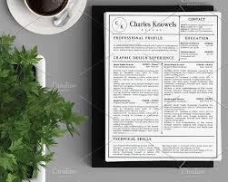 Modern 2 Page Resume Cv Template Cv Template Resume Cv And Template