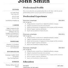 Resume Templates Open Office Impressive Openoffice Resume Templates Best Of Pics Of Resume Template Open