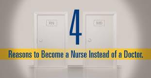 Why Do I Wanna Be A Nurse 4 Reasons To Choose Nursing Vs Medical School Advanced Nursing Blog