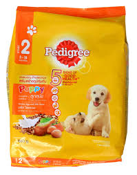 pedigree dry puppy cheese egg dog food