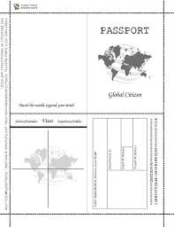 Free Passport Template For Kids Free Printable Passport Book When Image Results ELT 100 30