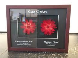 glass and acrylic glazing