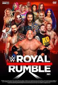 WWE Royal Rumble 2021 Poster by Chirantha on DeviantArt