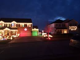 Ditto Light Up Sign Outdoor Christmas Lights Christmas Lights Ditto