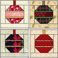 I want to try this block. | Quilting-Blocks | Pinterest ... & The Christmas Ornament Quilt Block Adamdwight.com