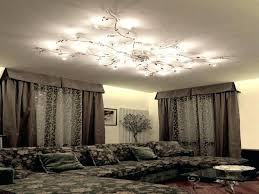 home and furniture sophisticated low ceiling chandelier of crystal flush for low ceiling